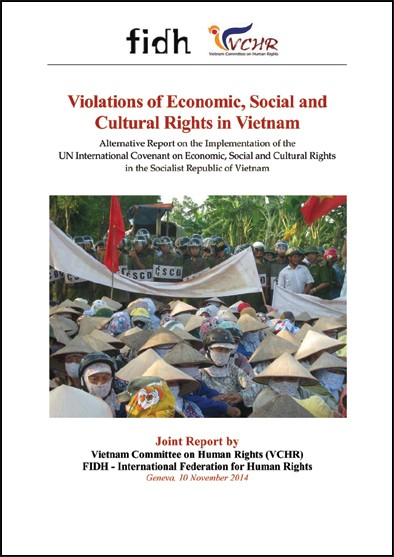 Alternative Report on the Implementation of the UN International Covenant on Economic, Social and Cultural Rights in the Socialist Republic of Vietnam