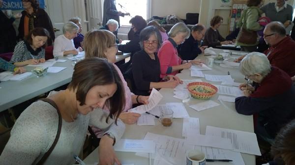 Signataires des lettres pour le Parlement Européen  (Photo Alvin Jacobson)
