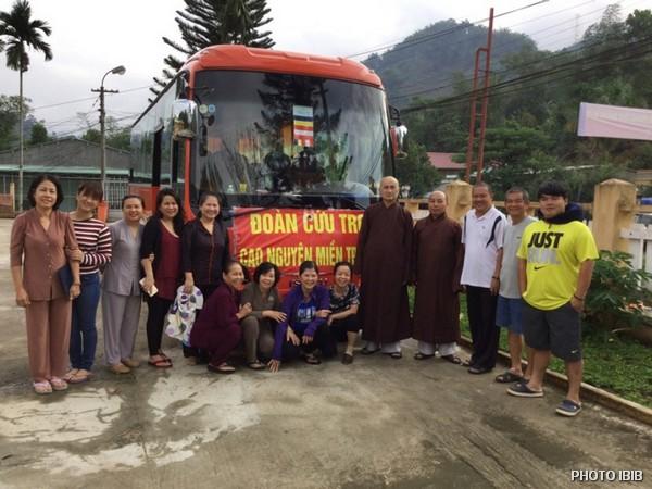 Đoàn cứu trợ Tỗng vụ Từ Thiện Xã Hội, Giáo hội Phật giáo Việt Nam Thống nhất