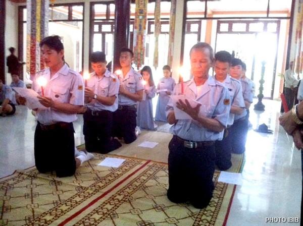 Ngọn đèn Vô tận đăng thắp sáng đường đi gian nan nhưng đầy đạo hạnh của người Huynh trưởng Gia Đình Phật tử Việt Nam