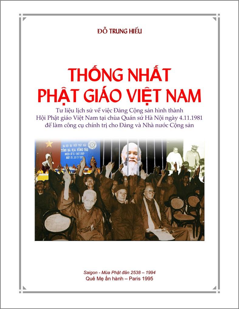Thống Nhất Phật Giáo Việt Nam (Đỗ Trung Hiếu), Tư liệu lịch sử về việc Đảng Cộng sản hình thành Hội Phật giáo Việt Nam tại chùa Quán sứ Hà Nội ngày 4.11.1981 để làm công cụ chính trị cho Đảng và Nhà nước Cộng sản