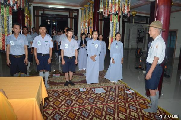 Huynh trưởng Nguyễn Tất Trực, Trưởng Ban Hướng Dẫn GĐPT Thừa Thiên ban Huấn từ