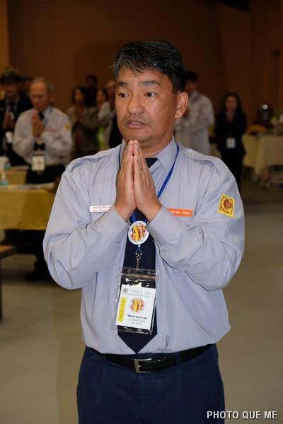 Tổng Thư Ký Nhật Liên Dũng báo cáo Phật sựtổng quan GHPGVNTN-HN/HK