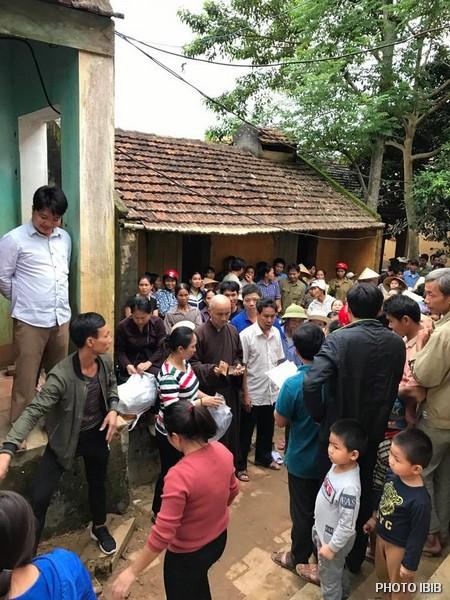 Cứu trợ tại Xã Thành Mỹ, Huyện Thạch Thành, Tỉnh Thanh Hoá