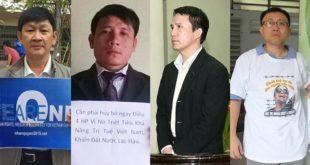 Các thành viên Hội Anh Em Dân Chủ bị bắt vì cáo buộc vi phạm điều 79 Bộ Luật Hình Sự