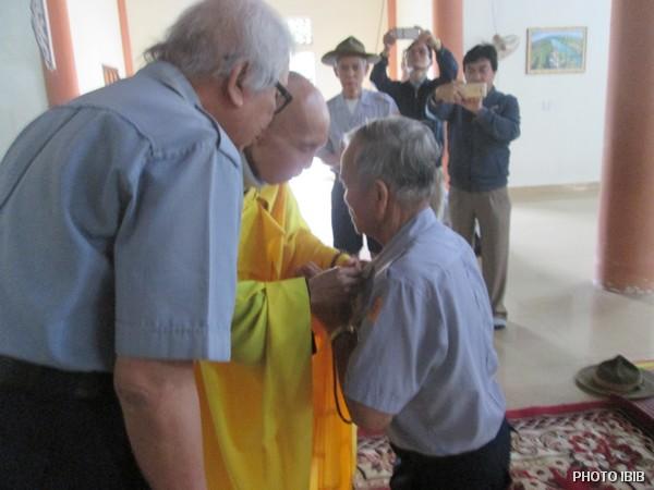 Lễ Thọ Cấp Dũng cho Huynh trưởng Tâm Thiệt Hoàng Như Đạo