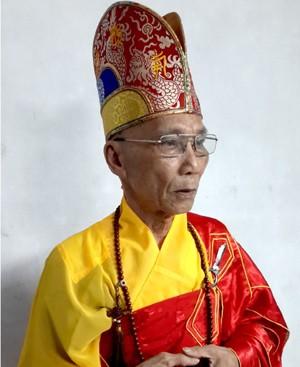 HT Viện trưởng Viện Hoá Đạo Thích Thanh Quang