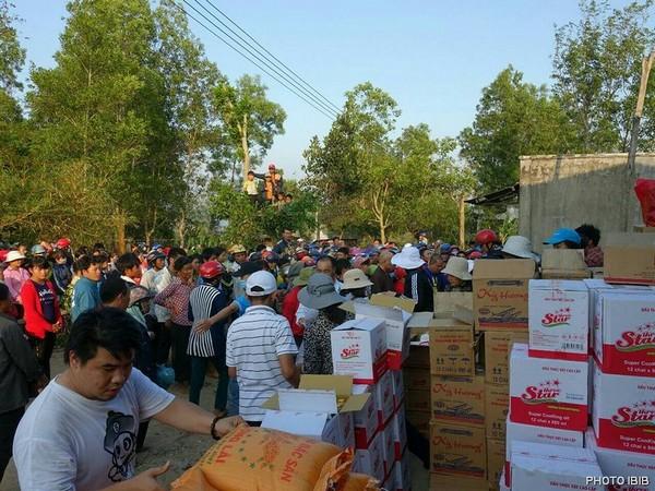 Cứu trợ tại Xã Ea Đăh, Huyện Krông Năng,Tỉnh Đak Lak