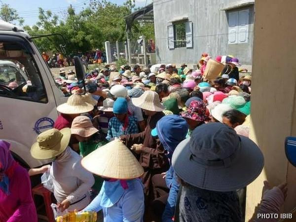 Cứu trợ tại Xã Phước Chiến, Huyện Thuận Bắc, Tỉnh Ninh Thuận