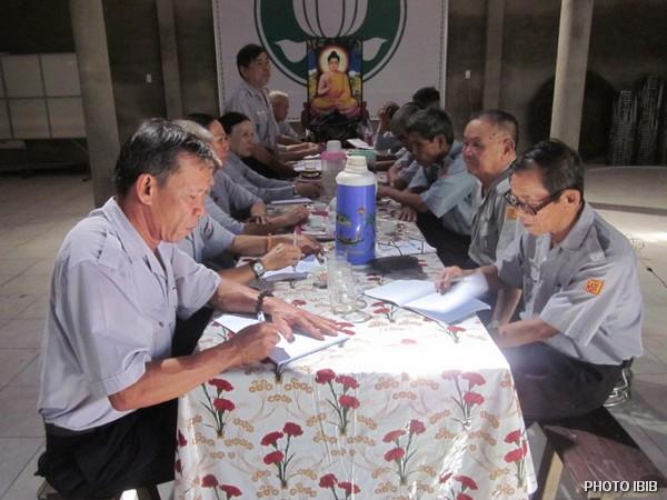 Thảo luận Nhóm tại Hội thảo Huynh Trưởng Cấp Tấn GĐPT Thừa Thiên