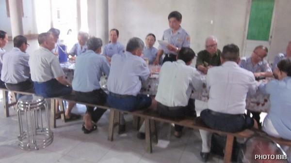 Huynh trưởng Nguyễn Văn Liêu thuyết trình tại Hội thảo Cấp Tấn