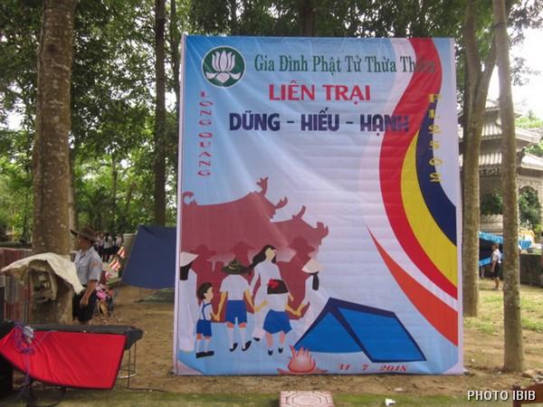 Phù hiệu Liên Trại Dũng - Hiếu - Hạnh – Hình IBIB