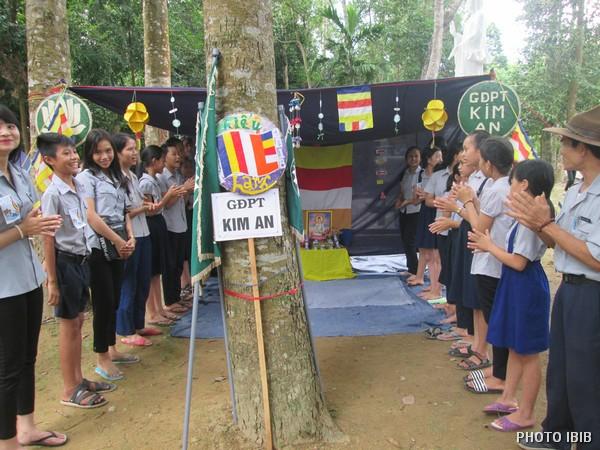Lều trại một Gia Đình Phật tử – Hình IBIB