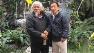 Do Cong Duong (left) - RFA