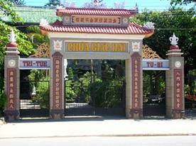 Giac Hai Pagoda in Don Duong district, Lam Dong province, where Thich Tri Khai is Superior monk