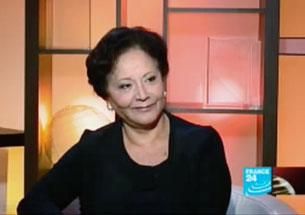 Bà Souhayr Belhassen, Chủ tịch Hội Nhân quyền Tunisia, đồng thời là Chủ tịch Liên Đoàn Quốc tế Nhân quyền