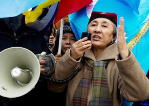 Bà Rebiya Kadeer, nhà lãnh đạo dân chủ Ughur. AFP
