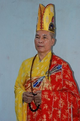 Hòa thượng Thích Viên Định, Tân Viện trưởng Viện Hóa Đạo, GHPGVNTN - Ảnh IBIB