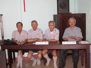 Đại diện Ban Hướng dẫn Thừa Thiên và  Ban Hướng dẫn Trung ương, Photo PTTPGQT