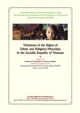 Violations of the Rights of Ethnic and Religious Minorities in the Socialist Republic of Vietnam