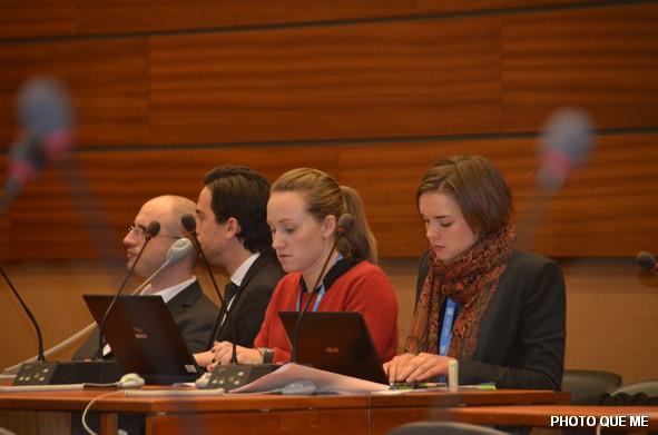 Các Phái đoàn Chính phủ theo dõi cuộc Hội luận tại LHQ