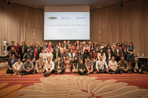 Conference on Freedom of Religion or Belief in Southeast Asia (30 September – 1 October 2015)
