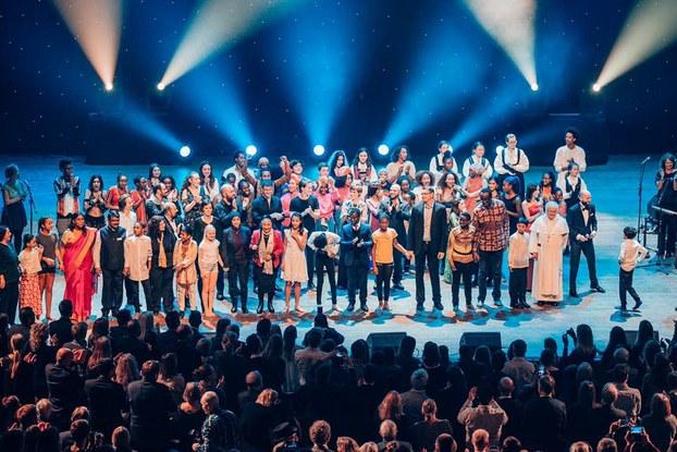 Tại thành phố Bergen, Vương quốc Na Uy, từ ngày 19 đến 21 tháng 11 vừa qua. Sáng Hội Nhân Quyền Rafto vừa tổ chức Kỷ niệm 30 Năm Hoạt động cho Nhân Quyền và Dân chủ trên thế giới để tưởng niệm Nhà đấu tranh cho Nhân quyền Thế giới người Na Uy, Giáo sư Thorolf Rafto, qua đời năm 1986. RFA PHOTO/Ỷ Lan