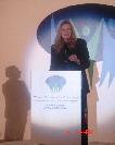Penelope Faulkner at the Democracy Courage Tribute (Photo Bo Tedards)