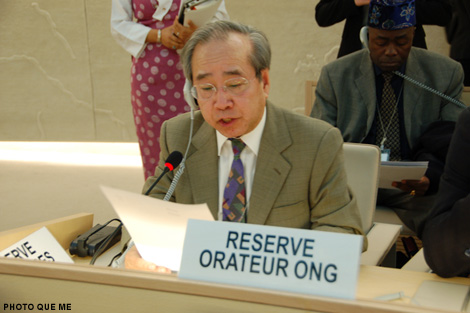 Vo Van Ai denounces Vietnam's non-compliance with UN Treaties, dangers of Bauxite mining in Central Highlands, and Secret VPC anti-Human rights plan (10th Session of the UN Human Rights Council, 23 March 2009)