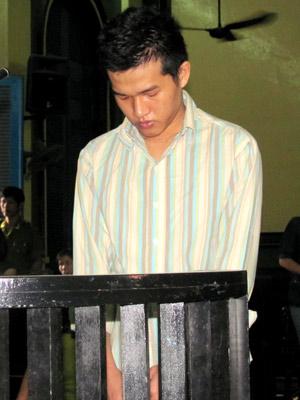 Phan Minh Mẫn nhận tội và ăn năn trước tòa hôm 17.7 - Ảnh : Vũ Mai