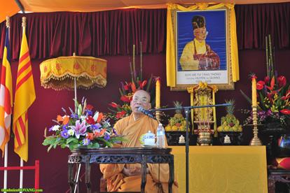 Thời thuyêt pháp của Đại lão Hòa thượng Thích Chánh Lạc sáng ngày thứ bảy 17.7.2010