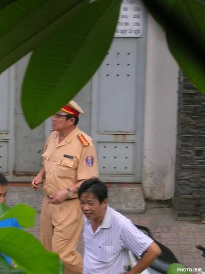 Công an tại Thanh Minh Thiền viện