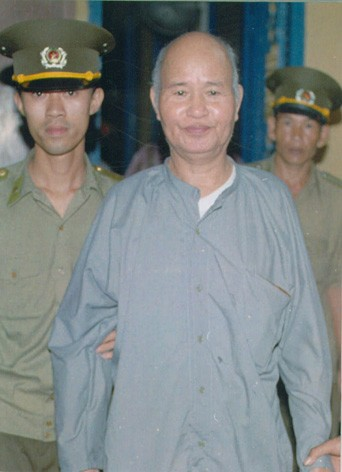 Thich Quang Do is sentenced to 5 years in prison at the Ho Chi Minh City Supreme Peoples Court on 15 August 1995