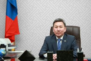 Ngoại trưởng Mông Cổ Luvusanvadan Bold (Hình do TTV Ỳ Lan cung cấp)