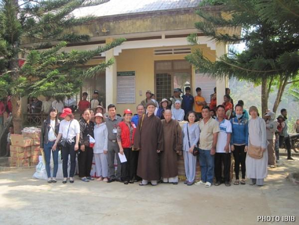 Phái đoàn cứu trợ tại KonTum, Khánh Hòa, Ninh Thuận