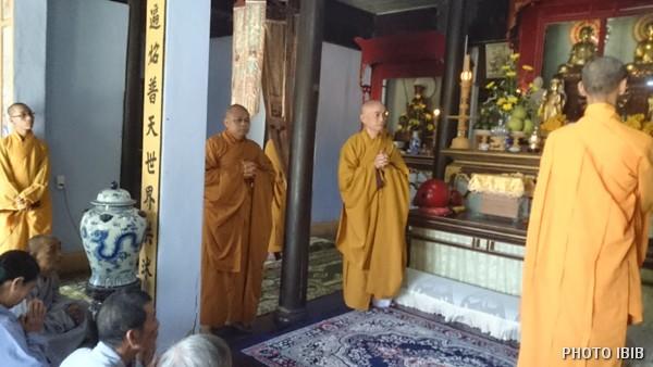 Hoà thượng Thích Toàn Lạc, Tân Trú trì chùa Kim Quang, tác bạch
