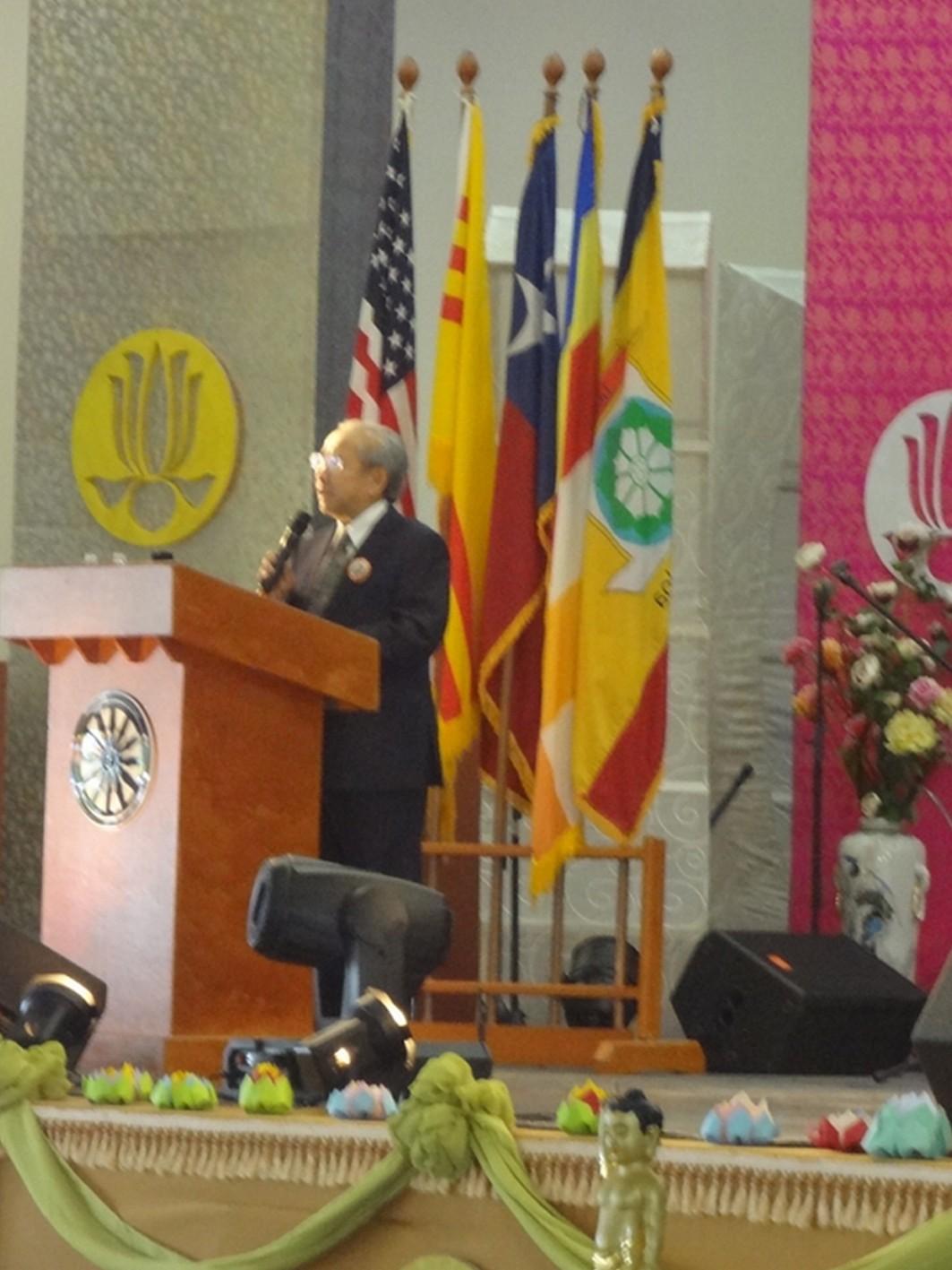 Cư sĩ Võ Văn Ái nói về Yếu chỉ Thông điệp Phật Đản năm nay của Đức Tăng Thống Thích Quảng Độ