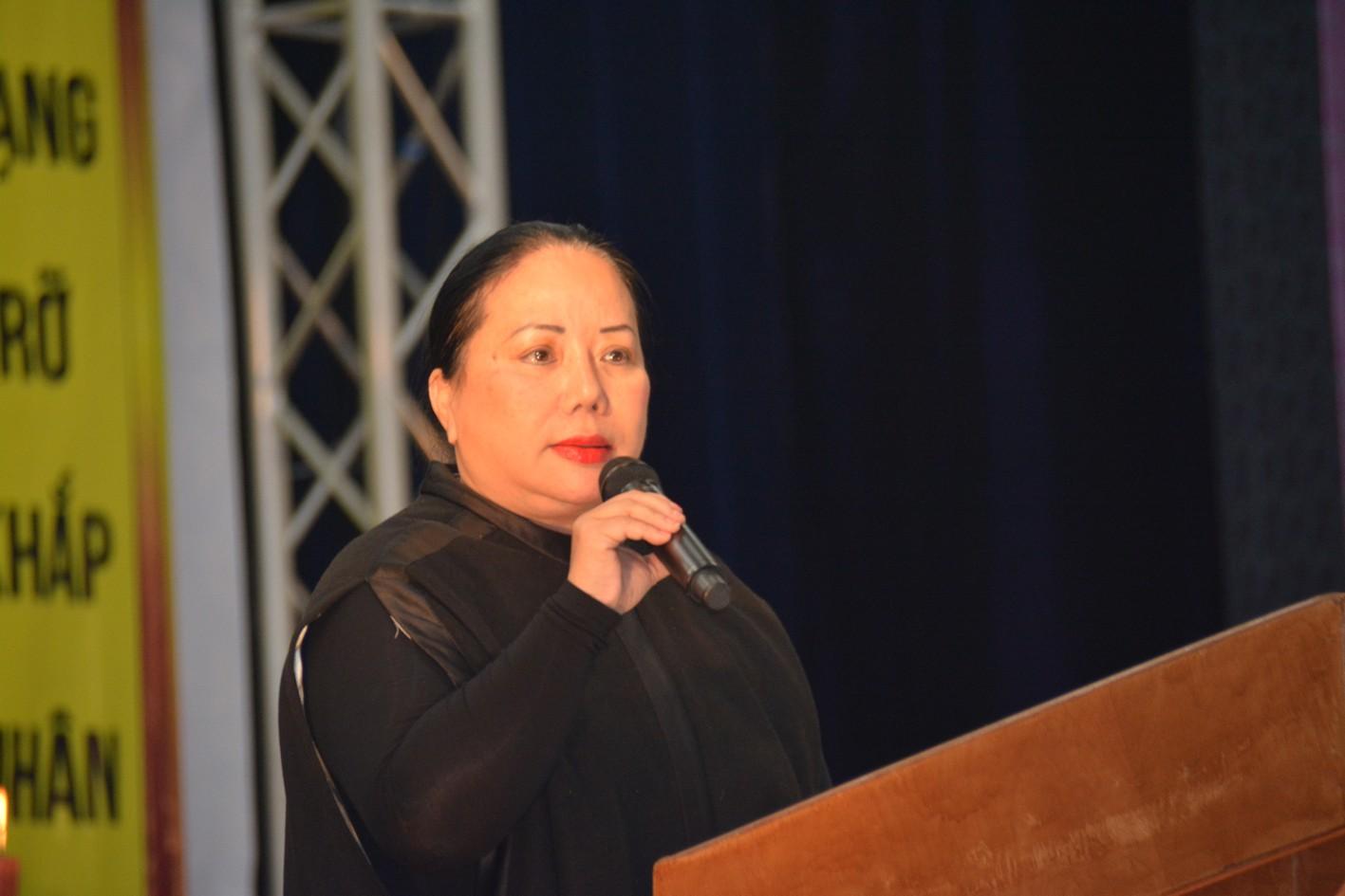 Luật sư Trần Thị Minh Tâm giải thích diễn tiến pháp lý trong vụ tiếm danh GHPGVNTN của Sư Giác Đẳng