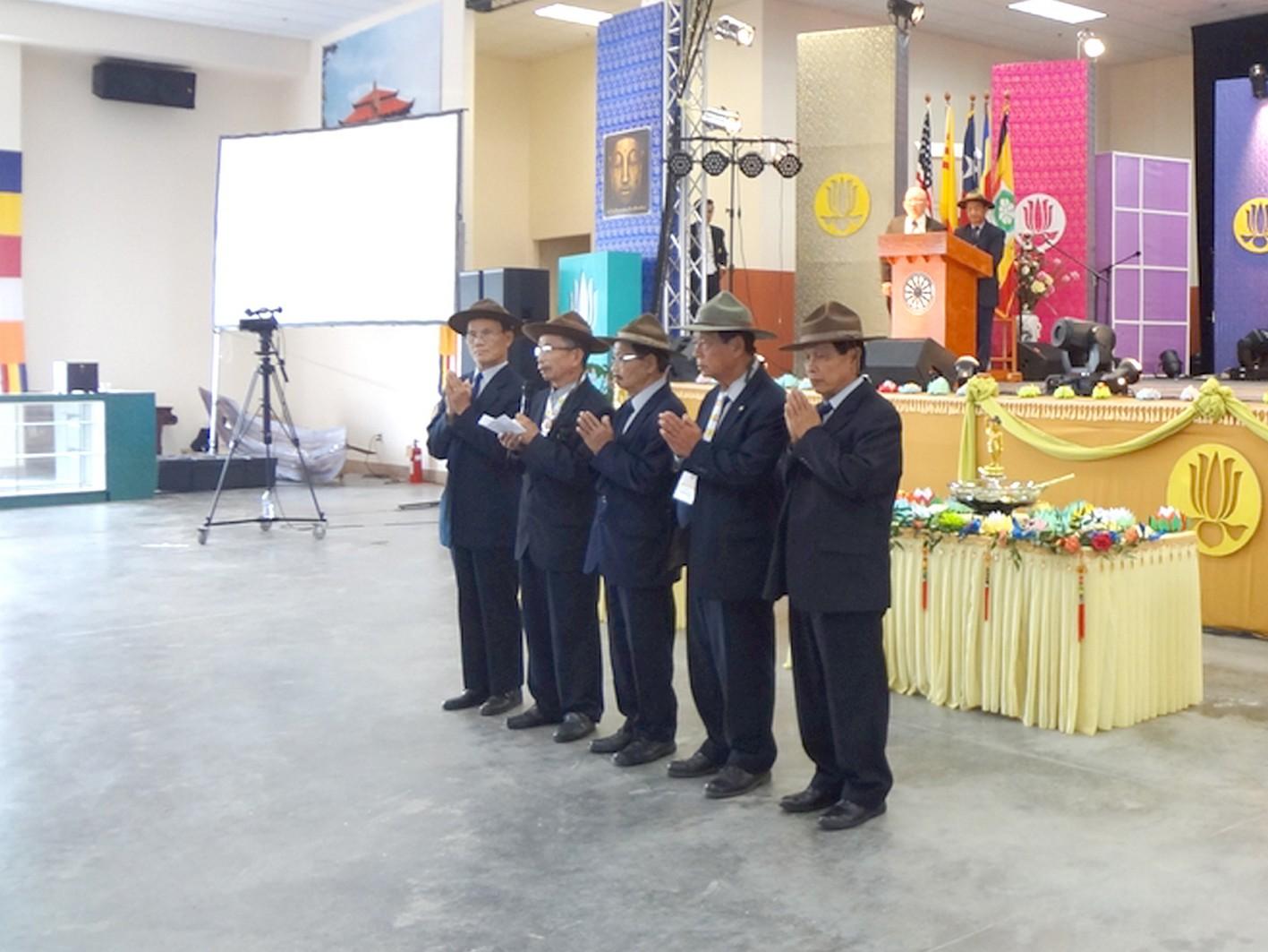 Tân Ban Chấp hành Liên Đoàn Cựu Huynh trưởng & Đoàn sinh GĐPTVN tại Hoa kỳ