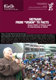 """""""From """"Vision"""" to Facts: HUMAN RIGHTS IN VIETNAM under its Chairmanship of ASEAN"""""""