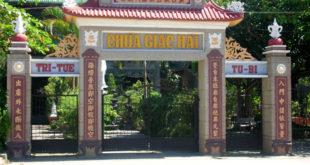 Hình cổng chùa Giác Hải, huyện Đơn Dương, Lâm Đồng, của Thượng tọa Thích Trí Khải