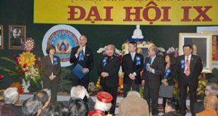 Các Dân biểu Hoa Kỳ tại Đại hội GHPGVNTN kỳ IX tại Chùa Điều Ngự hôm 20/11/2011- Photo IBIB