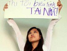 Dưới chế độ độc tài toàn trị, phản ứng của nam nữ thanh niên trong ngày 1-7-2012 là Biểu Tình Tại Gia