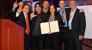 Một số Đại biểu tại Hội nghị Phong trào Dân chủ Thế giới lần thứ 7 họp tại thủ đô Lima, nước Peru, Nam Mỹ, vừa diễn ra từ ngày 14 đến 17/10. (Courtesy wmd.org)
