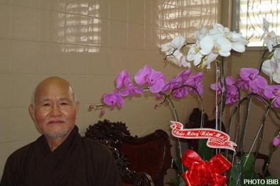Đức Tăng Thống Thích Quảng Độ tại Thanh Minh Thiền Viện, Hình PTTPGQT