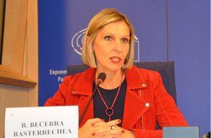 Nữ Dân biểu Quốc hội Châu Âu Beatriz Becerra