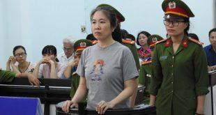 Nguyễn Ngọc Như Quỳnh lãnh án tù 10 năm tại phiên xử hôm nay, 29-6-2017 tại Toà án Nhân dân tỉnh Khánh Hoà