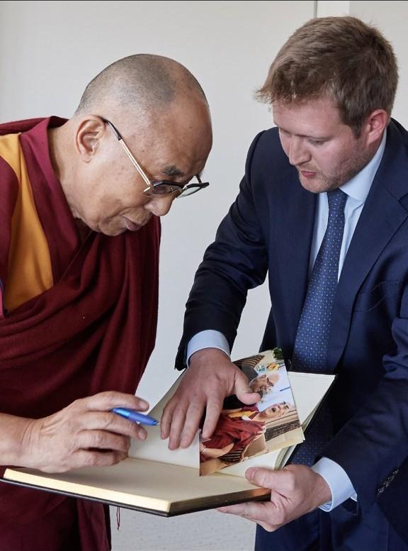 The Dalai Lama & Umberto Gambini