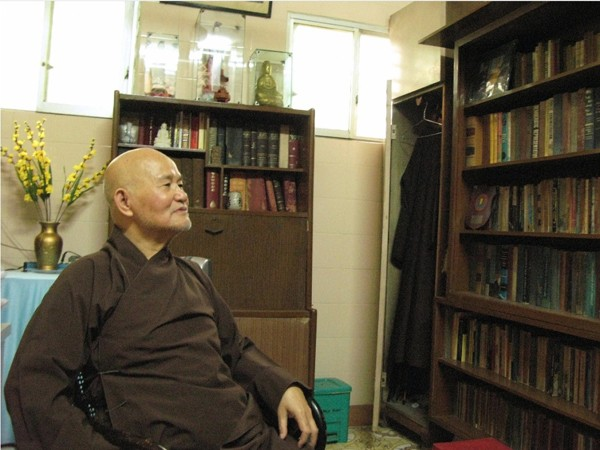 "Thich Quang Do in 2007 at a monastery in Ho Chi Minh City, where he was under house arrest. A simple vow to combat intolerance, he said, led him ""down a path paved with prison cells, torture, internal exile and detention."" Credit...Aude Genet/Agence France-Presse — Getty Images"