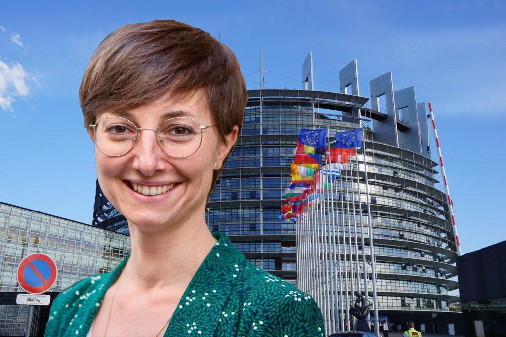 Hình minh hoạ. Dân biểu Quốc hội Châu Âu, bà Saskia Bricmont thuộc Đảng Xanh - Photo: RFA